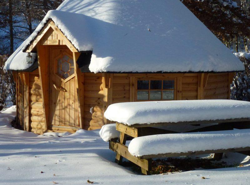 Caravaneige proche de la station de ski Super-Lioran