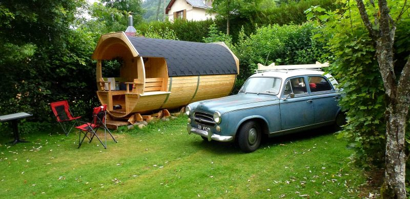 camping des Blats proche d'Aurillac