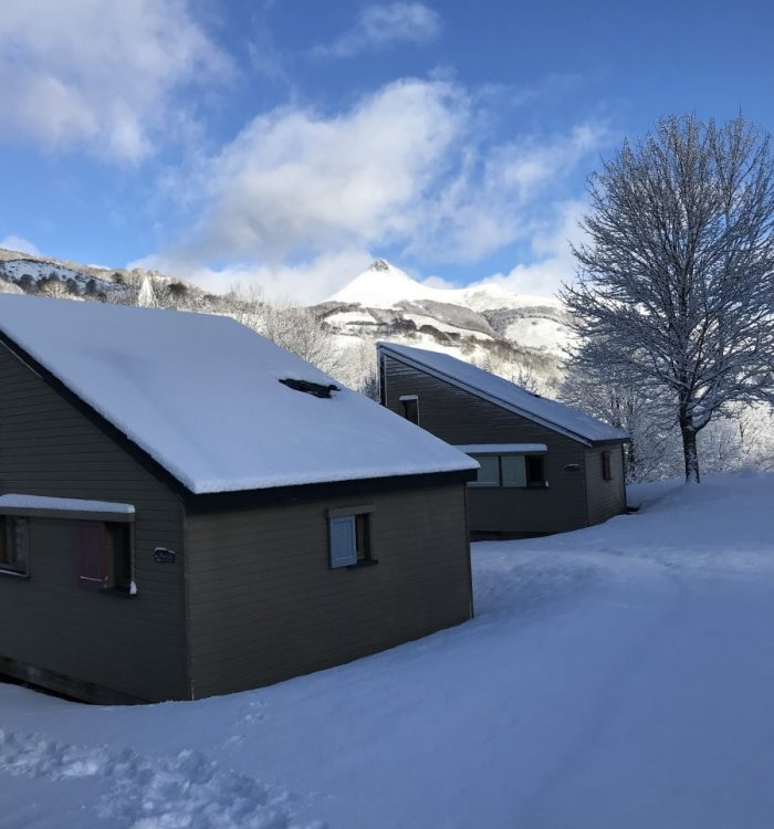 Chalet Confort Auvergne Camping Cantal Lioran (1)