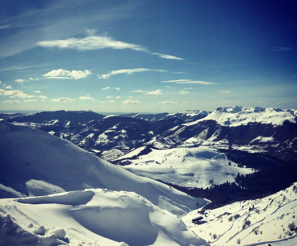 Paysages hiver Auvergne Lioran (8)