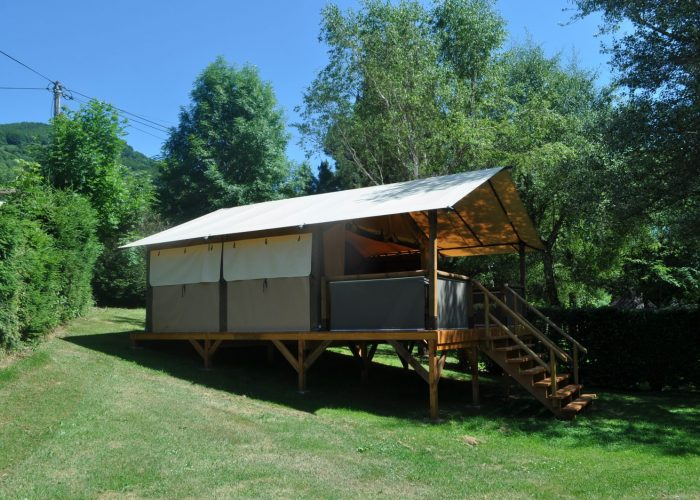 Tente Logde Insolite Confort Auvergne Cantal Lioran (7)